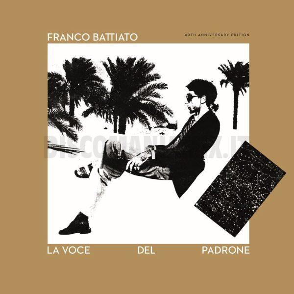 Franco Battiato - La Voce Del Padrone CD+LP 180 Gr. Deluxe Limited Gold Edition