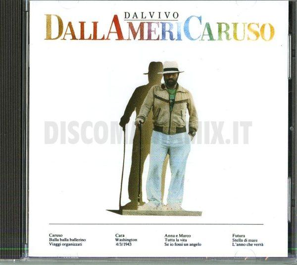 Lucio Dalla Dallamericaruso CD (1986)