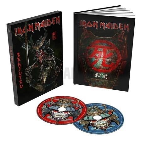 Iron Maiden Senjutsu (2 CD Deluxe Book Format Edition)