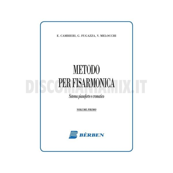 Metodo Bèrben per fisarmonica Ed. Curci