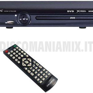 Lettore DVD-MPEG 4 con uscita HDMI Majestic HDMI-579