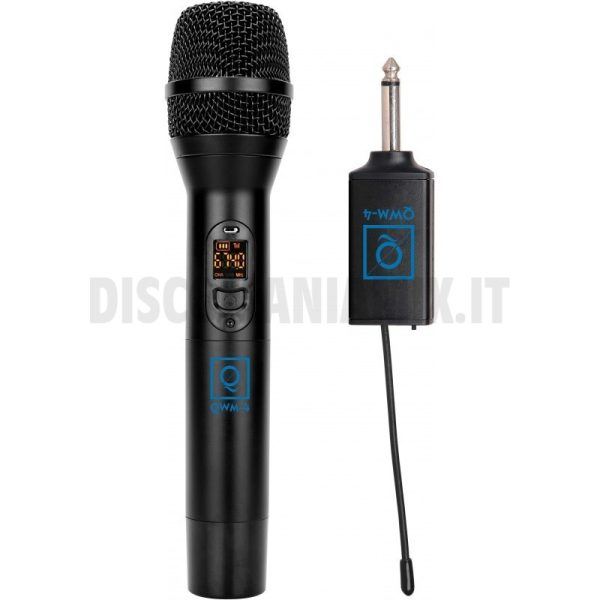 Radiomicrofono uhf QWM-4