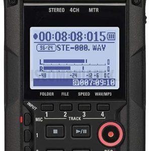 Zoom H4n Pro BK Registratore 4 tracce con interfaccia USB