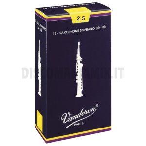 VANDOREN Ance Sax Soprano 2.5